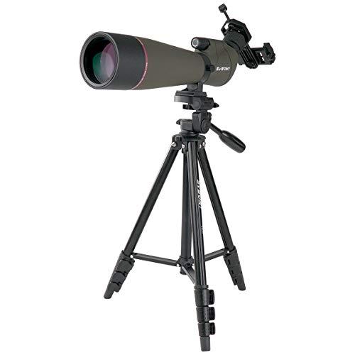 SVBONY SV13 Spotting Scope Telescope for Hunting 20-60X80mm Zoom Range IPX7 Waterproof with Phone Adapter Bird Watching
