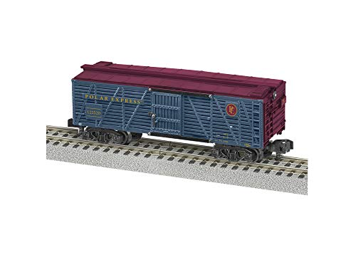 Lionel The Polar Express, Electric S Gauge Model Train Cars, Stock Car #122520