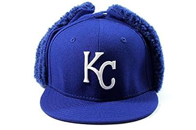 New Era Kid's Kansa City Royals Blue Dog-Ear Winter Hat size