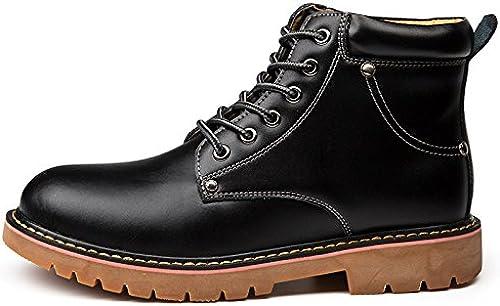 Les hommes sont à à l'aise et bottes souliers bottes chaudes jeunes cycle,noir,trente - huit  le plus préférentiel