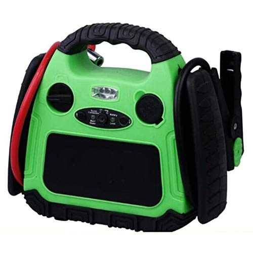 Review XLY Multifunction Air Compressor, Portable Booster Car Battery Jump Starter Charger for Mobil...
