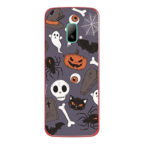 Disagu SF-sdi-4195_1209 Design Folie für Wiko riff Rückseite - Motiv Halloweenmuster 01