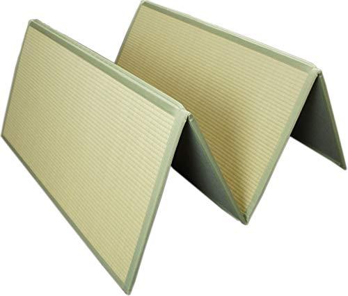 折りたためるユニット畳 シングル敷布団のサイズ 100x200cm コンパクトに畳めて収納ラクラク!