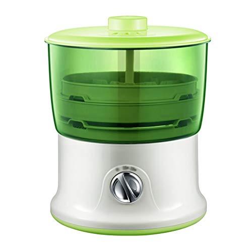 Máquina para hacer roti de 2 capas de doble capa automática aspersor de frijoles domésticos máquina de brotes
