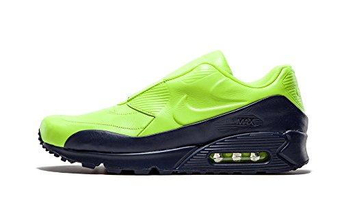 Nike Damen WMNS Air Max 90 SP/Sacai Fitnessschuhe, Gelber Volt Volt Obsidian, 40 EU