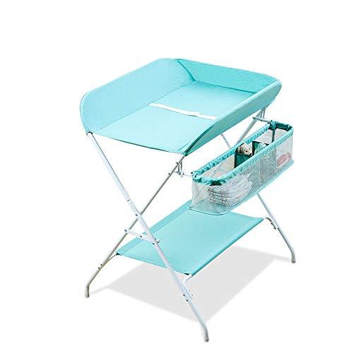 Table à langer pliante, organisateur de chambre à langer, support de baignoire pour bébé, tissu imperméable