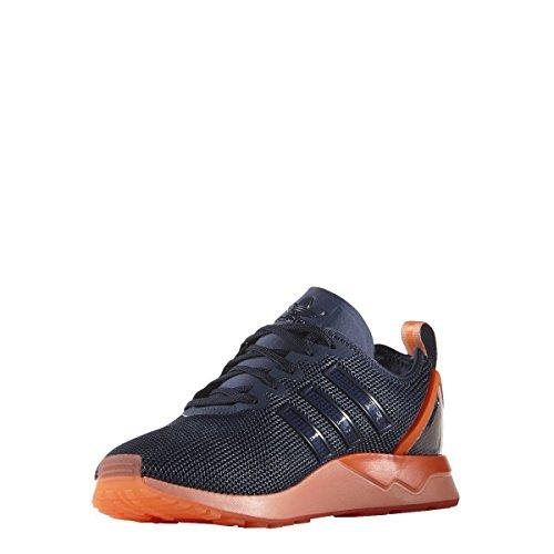adidas Originals ZX Flux ADV Scarpe Sneakers Blu Arancione per Uomo