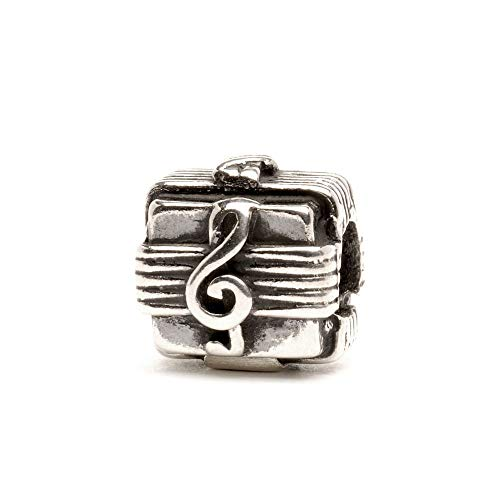 Trollbeads Silber Bead Musikbox