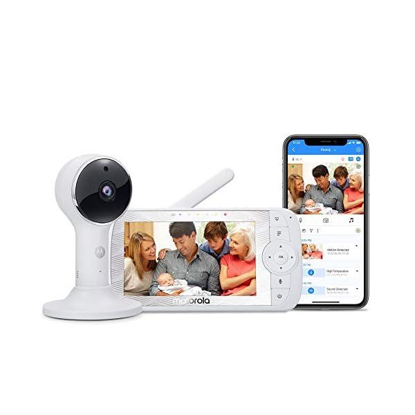 Motorola Connect60 Wireless Home Monitoring Camera – 5-Inch HD 1080p WiFi Video...