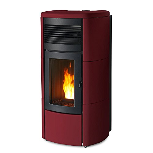 Pelletofen MCZ Club Comfort Air 14 Matic Maestro (14 kw) Keramik Bordeaux