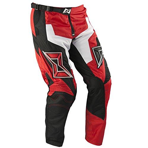 Mots MT3201XLR Enduro E1 Pantalón, Rojo, Talla XL