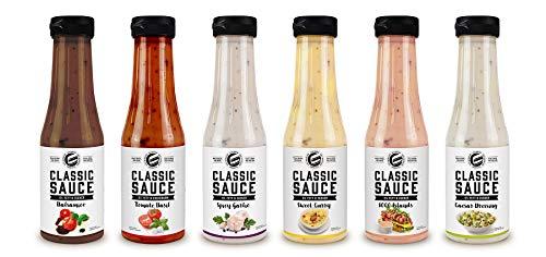 Got7 Classic Sauce - Karlorienfreie Würz, Grill und Salatsauce - Perfekt Zur Diät Abnehmen (3. Mix Box, 6x 350ml)