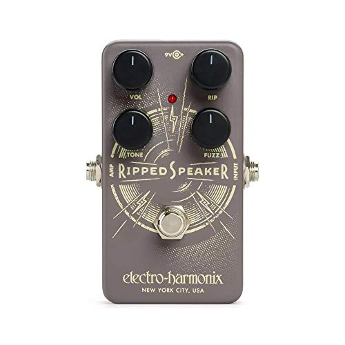 Electro Harmonix - Pedal de guitarra rasgado con altavoz rasgado