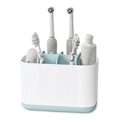 Watooma Badezimmer Easy-Store Zahnbürste Caddy, Familie Zahnbürstenhalter für Kinder, Badezimmer Lagerung Organizer, Kinder Zahnpasta und Zahnbürste Halter für Dusche