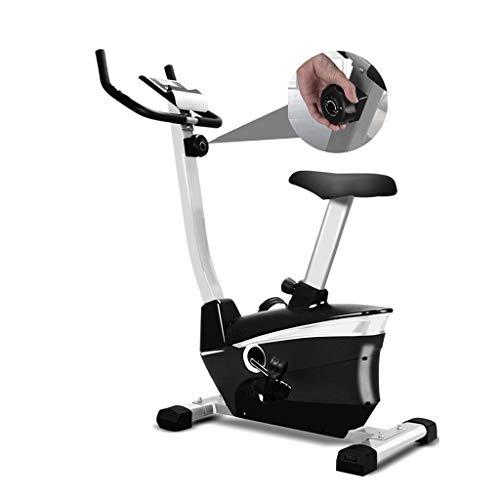 Fitnessbikes Heimtrainer Für Zuhause Zu Hause Magnetic Control Heimtrainer Indoor-Pedalrad Faltbar, 8-Gang-Widerstandseinstellung Stabilität Schwerpunkt (Color : Black+Gray, Size : 75 * 48 * 118cm)