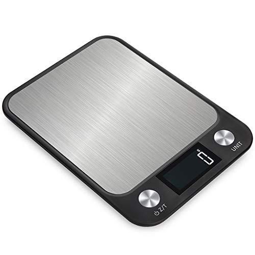 HUANGDA Balance en acier inoxydable haute précision électronique 0.01g balance électronique cuisine cuisine balance numérique ménage balance électronique 10kg