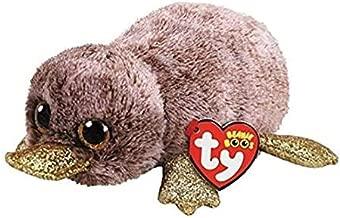 TY Beanie Boos Bundle 1 Petunia The Platypus Regular Includes 1 Petunia The Platypus Medium and a Fun Chop Chopsticks Holder