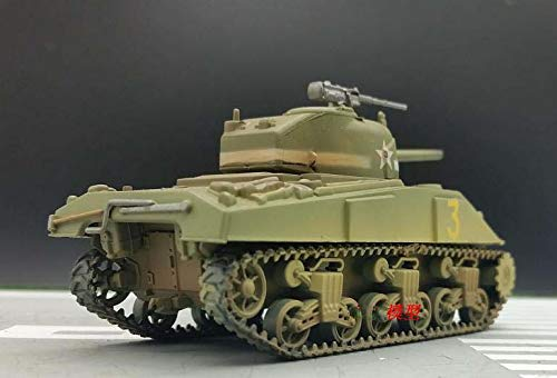 Easy Model WWII US M4 Middle Tank Sherman 1st Armored div 1/72 Non diecast