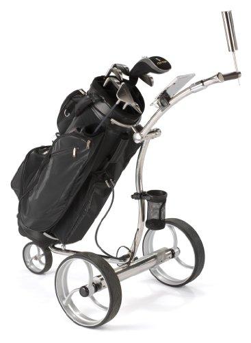 TINK Noble Edelstahl Golf Trolley, elektrisch, 3-Fach Bedienung