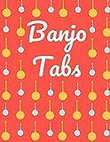 Banjo Tabs: Escriba su propia música de la tablaturas de la Banjo! | Banjo Taccuino | Cuaderno De Tablatura Para Banjo (Partituras de papel en blanco para canciones y acordes de Banjo)