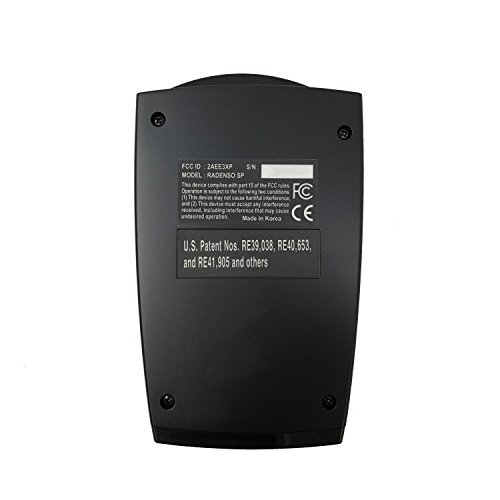 Radenso SP Radar Detector with False Alert Filtering