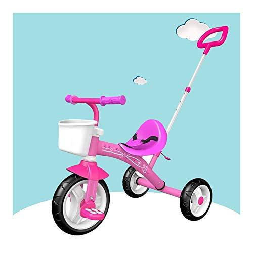 ZQY Kinderfiets Baby Kinderwagen Lichtgewicht Baby Pedicab Kinderdriewieler is geschikt voor 18 Maanden - 5 Jaar Oude Kinderen