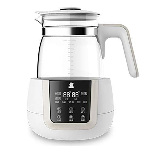 DLT Bable Flaschenwärmer, Glas-Wasserkocher-LCD-Monitor, Baby-Milchwärmer, 24-Stunden-Babykost Intelligente Thermostat-, Wasserkocher-Warmwasser (größe : 1200ML)