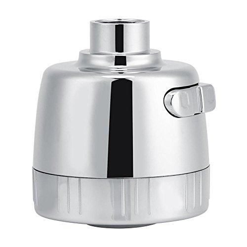 Cuarto de baño Grifo de cocina Retirar la cabeza de rociado Reemplazo de la parte Ahorro de agua Bubbler Anti-Splash Cromo pulido