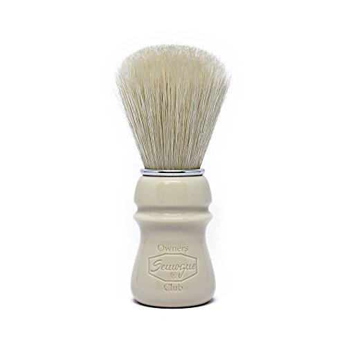 Semogue Owners Club (SOC) Taj Resin Premium Boar Edition Shaving Brush