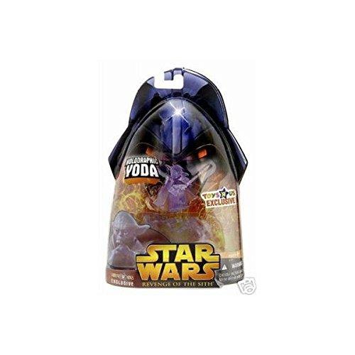 Star Wars Venganza de los Sith - Yoda holográfica - Exclusivo