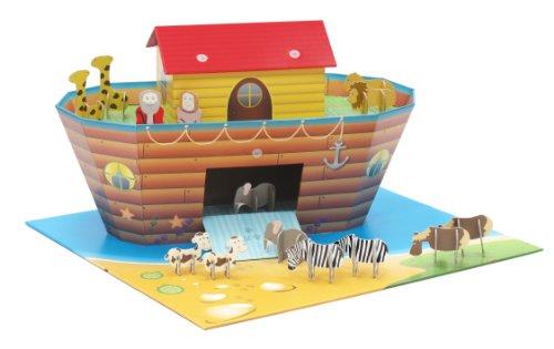 Cenário De Montar Arca De Noé, Krooom, Colorido