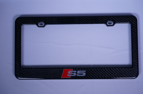 Audi S5 Carbon Fiber License Plate Frame