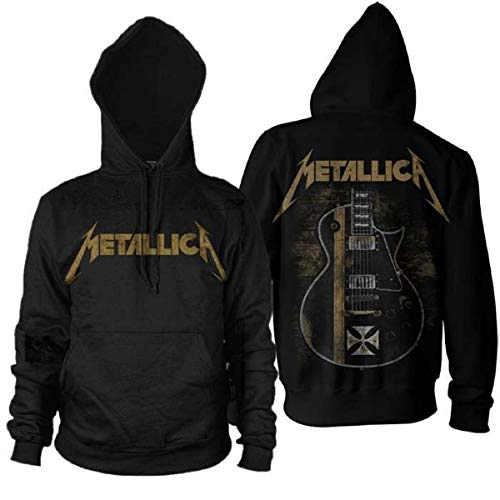 Beats & More Metallica - Hetfield Iron Cross Kapuzenpullover (Unisex) (2XL)