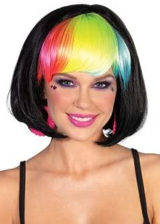 Leg Avenue Costumes Pop Rainbow Bang Bob Wig
