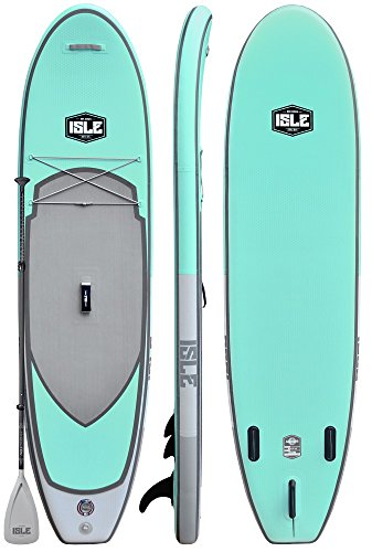 "ISLE 10'6' Pioneer | Inflatable Stand Up Paddle Board | 6"" Thick..."
