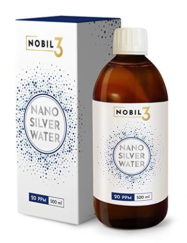 Nobil3 Argento Colloidale 20 ppm 500 ml gocce naturale e puro