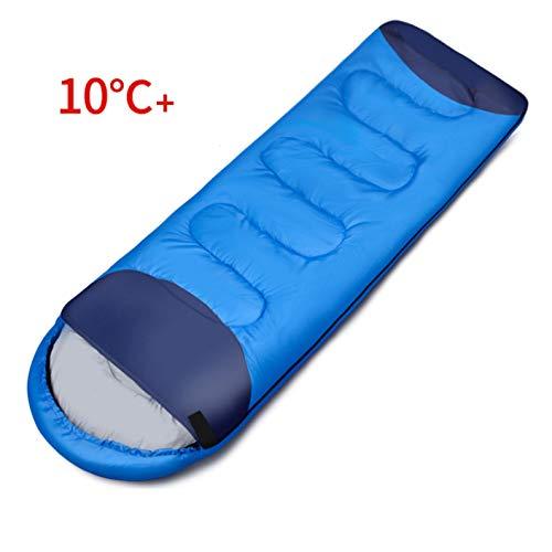 LIANGJING Sac de Couchage en Plein air Bleu Royal Sac de Couchage Sale pour hôtel Peut être épissé Quatre Saisons Universel Hydrofuge