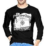 Photo de fenglinghua Black Stone Cherry Between The Devil & The Deep Blue Sea T-shirt à manches longues pour homme Noir - - XL