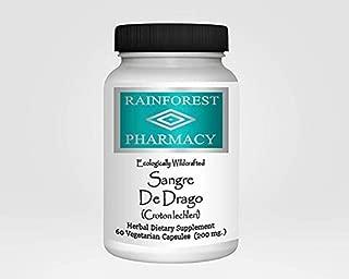 Rainforest Pharmacy Sangre de Drago 200 mg 60 Vegetarian Caps Peruvian Dragon Blood