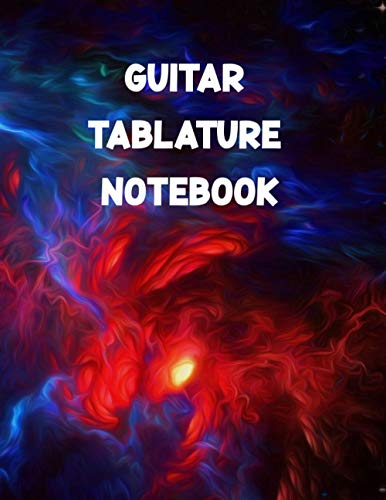 Guitar Tablature Notebook: Dinky Gift for Guitar Learner on Cute Valentines As Seven Line Staves Blank Guitar Tablature Writing Paper & Blank Chord Diagrams