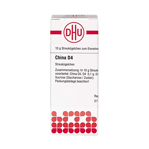DHU China D4 Streukügelchen, 10 g Globuli
