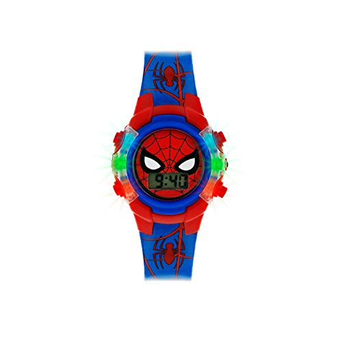 Spiderman Reloj Niños de Digital con Correa en PU SPD4504