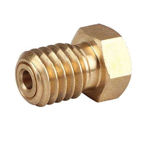 RONGW JKUNYU 3D Printer Nozzle Extruder Thread V6 Filament Extruder Head 1.75mm 3D Printer Accessories, Very Good Wear Resistance