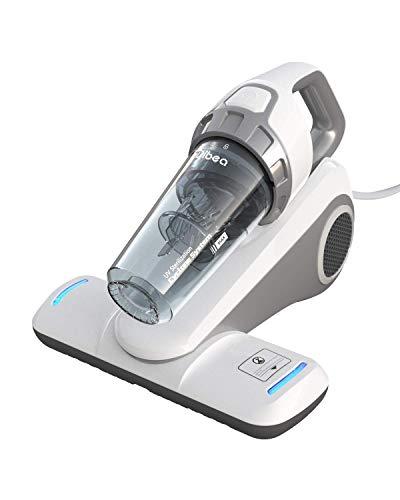 Dibea UV-Licht Matratzenstaubsauger Milbensauger Handstaubsauger 10000Pa 300W Leistungsstark 4,5m Kabel 400ML Matratzenreiniger Zyklonsystem Hepa-Filter Allergiker Bett Sofa UV-10