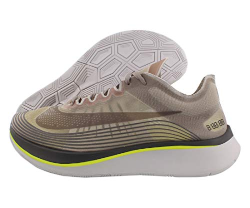Nike Mens Zoom Fly Athletic Trainer Running Shoes, Silver, Size 13.0