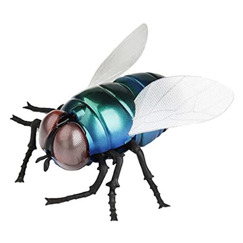 TOYANDONA RC Fliege Spielzeug Elektrisch Fernbedienung Auto Fahrzeug RC Tier Spielzeug Gefälscht Simulation Insekt Modell Lustige Streich Spielzeug für Kinder Geburtstag Geschenk