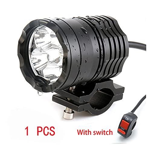 led para Autos Faro LED de Motocicleta 6 Lámparas LED LED Lámparas LED para R1200GS F800 F700GS Soportes Delanteros Motorbike Fog Pasando la luz led para Coches (Color : 1 pcs)