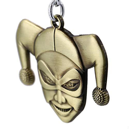 MINTUAN Key Chain Harley Quinn Joker Keychain New Key Rings For Gift Car