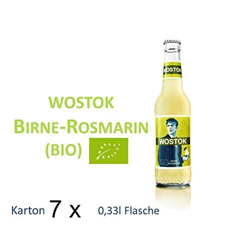 Wostok Birne Rosmarin 7 Flaschen je 0,33l