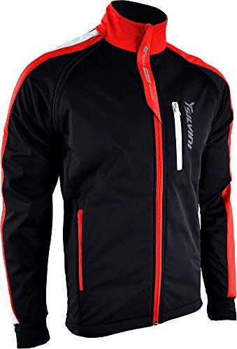 SILVINI Herren Mutta Softshell Jacke mit Abnehmbaren Ärmeln und Atmungsaktive Rückenteil Schwarz - M